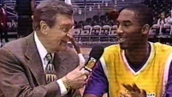 Image for He was born to play basketball, but for Kobe Bryant that was never enough