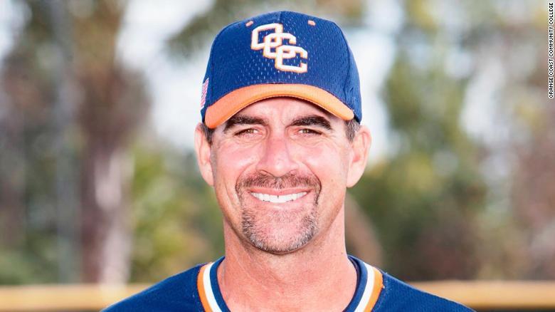 Orange Coast College  baseball coach John Altobelli