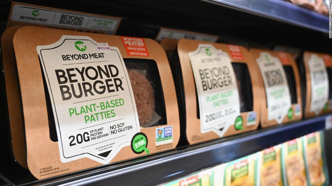 Beyond Meat strikes partnerships with McDonald's and Yum Brands - CNN