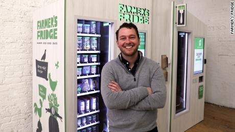 Farmer's Fridge founder and CEO Luke Saunders.