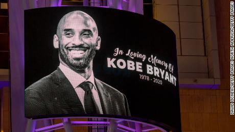 Former NBA star Kobe Bryant, who was killed in a helicopter crash in Calabasas, California is honored for his legacy.