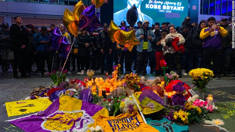A Fan S Homage To Kobe Bryant Cnn