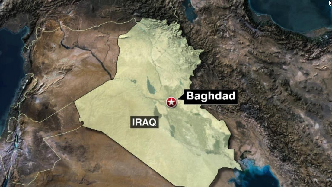 Three rockets hit US Embassy compound in Baghdad, US official says