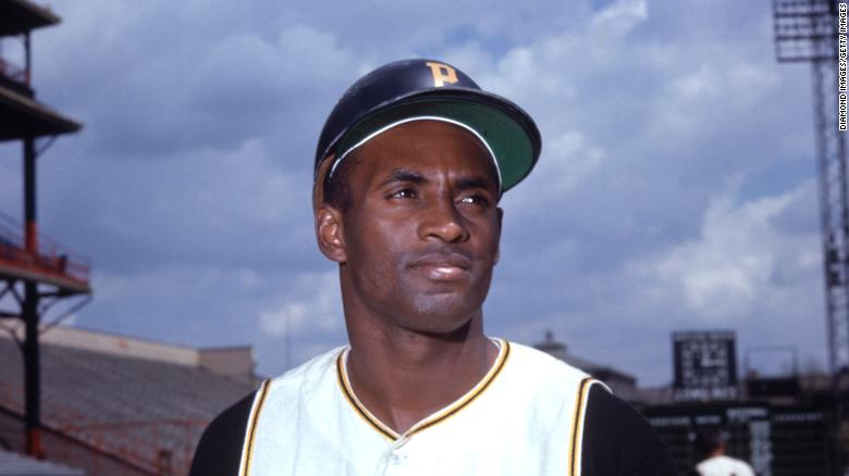 Roberto Clemente of the Pittsburgh Pirates was voted into the Baseball Hall of Fame.
