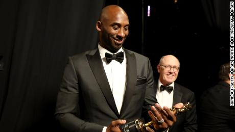 "Bryant won the Best Animated Short Film award for ""Dear Basketball"" at the 2018 Oscars."