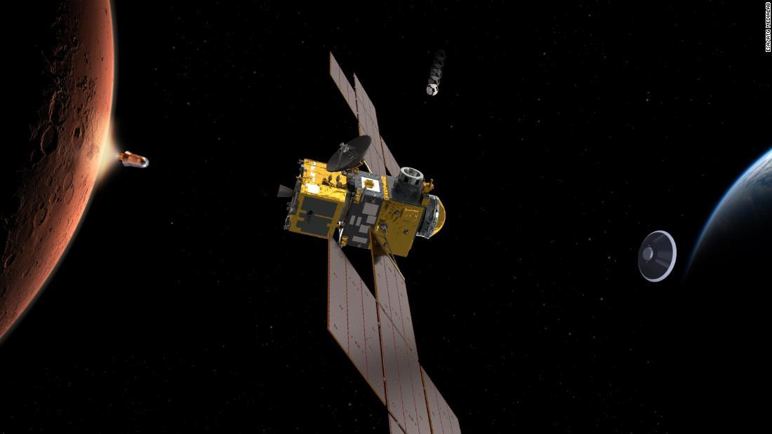 NASA will mars-Proben zur Erde zurück-und Sie brauchen jemanden, um die Leitung der mission