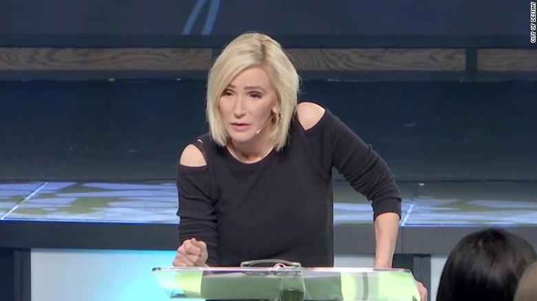 Paula White, a televangelist and religious adviser to President Trump.
