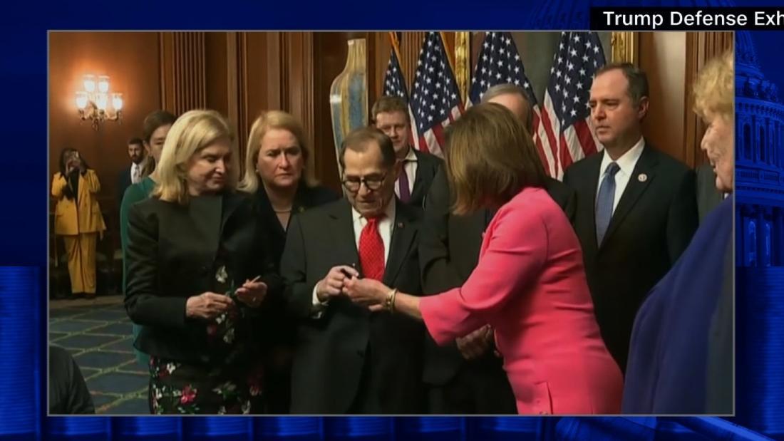 Trumps legakl team mocks House Dems celebratory moment