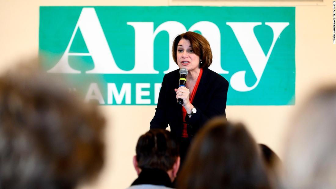 Amy Klobucharを尋ねて彼女のチケットのアイオワ州としての彼女の阻害によるimpeachment
