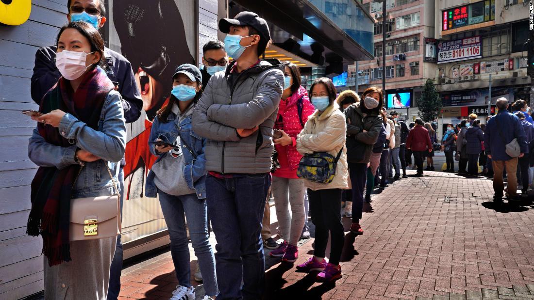 Χονγκ Κονγκ αποθέματα πτώση 2.6% για coronavirus φόβους