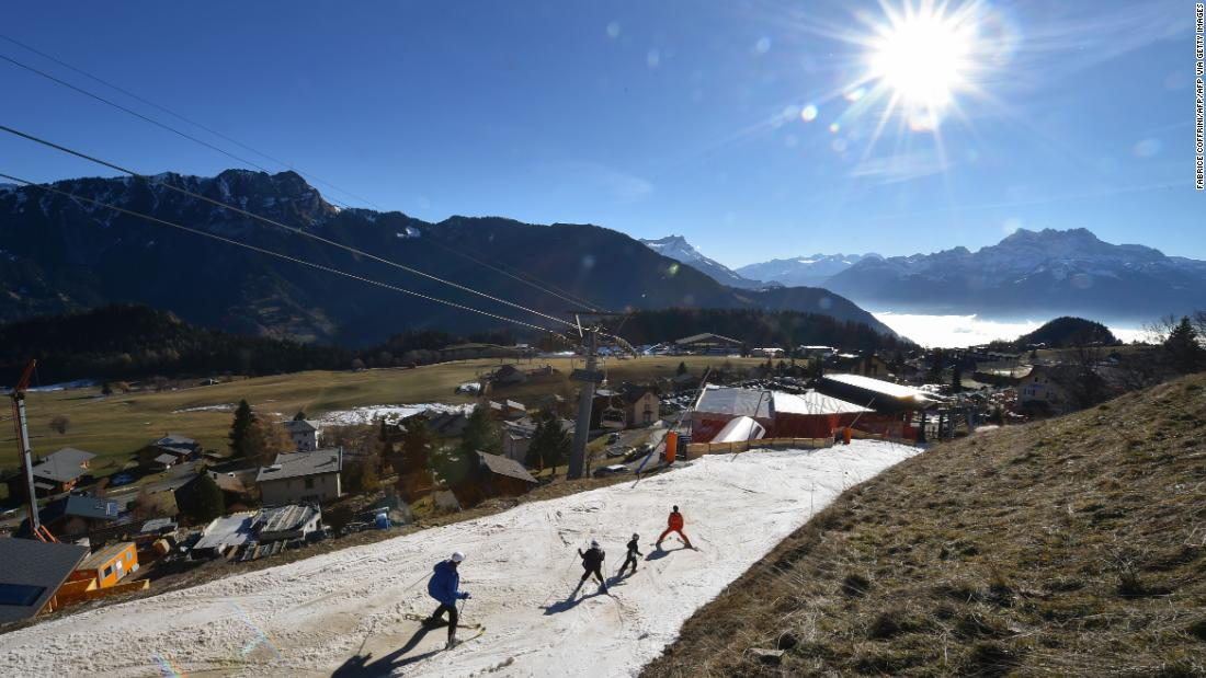 Ski season in the Alps may soon be over, permanently