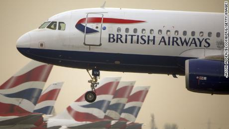 British Airways suspends all flights to China as coronavirus spreads
