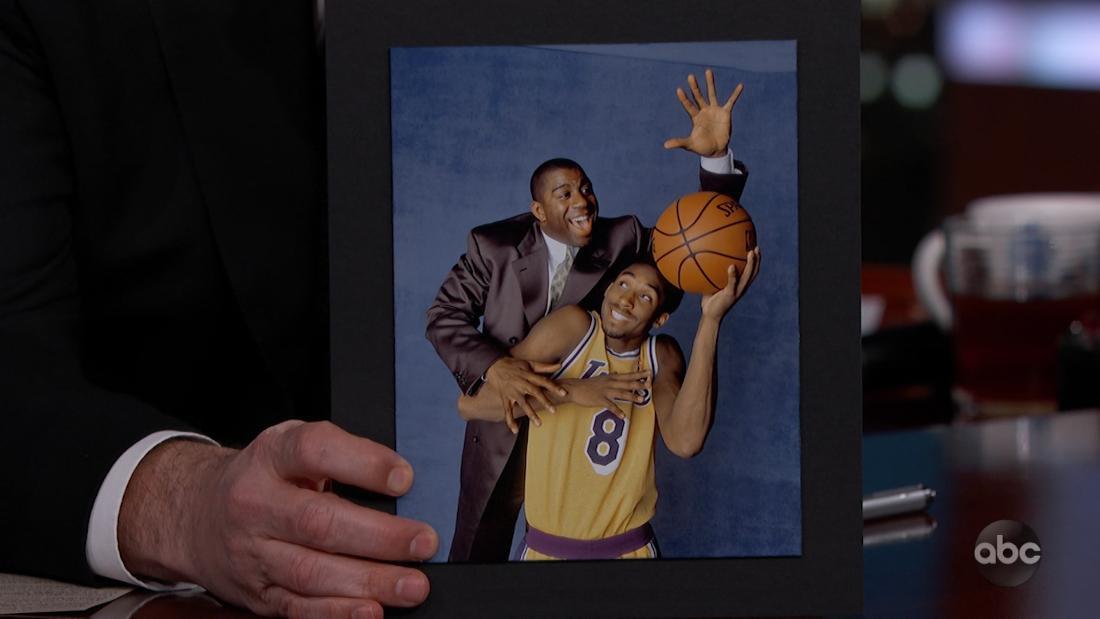Magic Johnson bekannt 'betrügen' zu schlagen Kobe Bryant