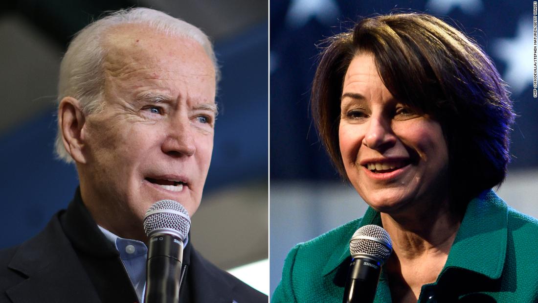Sehen, wie die Wähler beschreiben 2020 Kandidaten in einem Wort