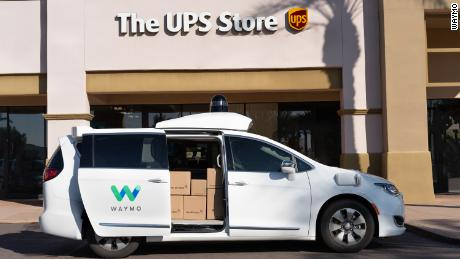 UPS teams up with Waymo to test self-driving delivery vans