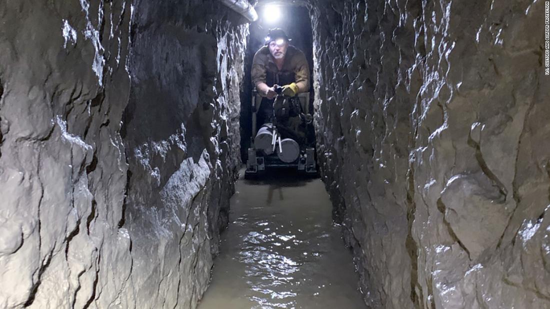 Längste US - Amerikanisch-mexikanischen Drogenschmuggel-tunnel entdeckt