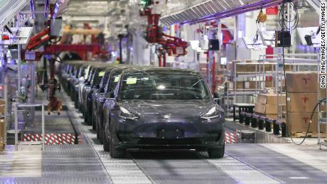 Tesla Model 3 production delayed in Shanghai because of coronavirus outbreak