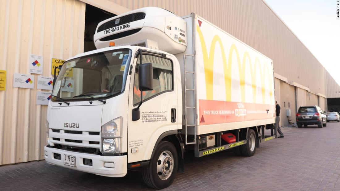 The Dubai company that uses fast food waste for good