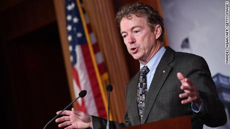 Sen. Rand Paul has tested positive for coronavirus