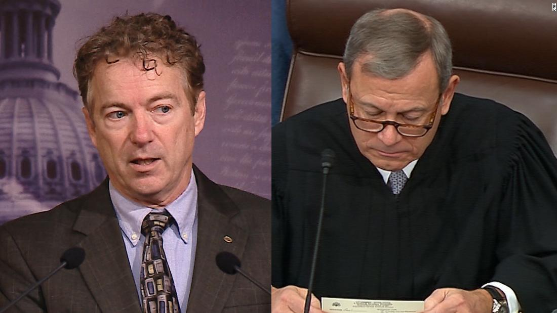 Watch Roberts refuse the question