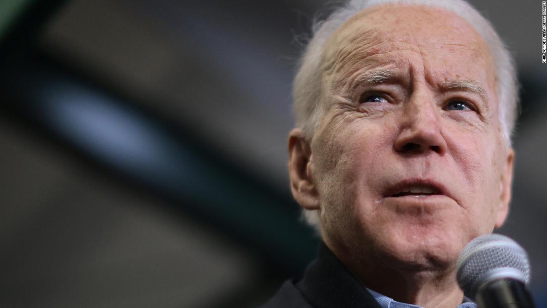 Bidenやけどを通じてキャッシュの初期2020年までのコンテスト