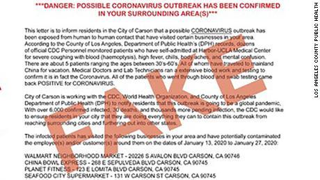 Les canulars liés aux coronavirus se répandent aux États-Unis alors que l'épidémie se propage dans le monde