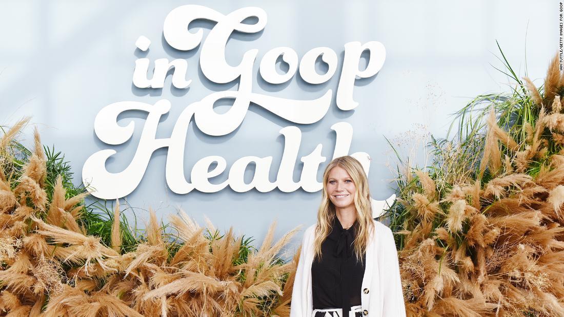 Το Top health επίσημη χτυπά η Γκουίνεθ Πάλτροου είναι