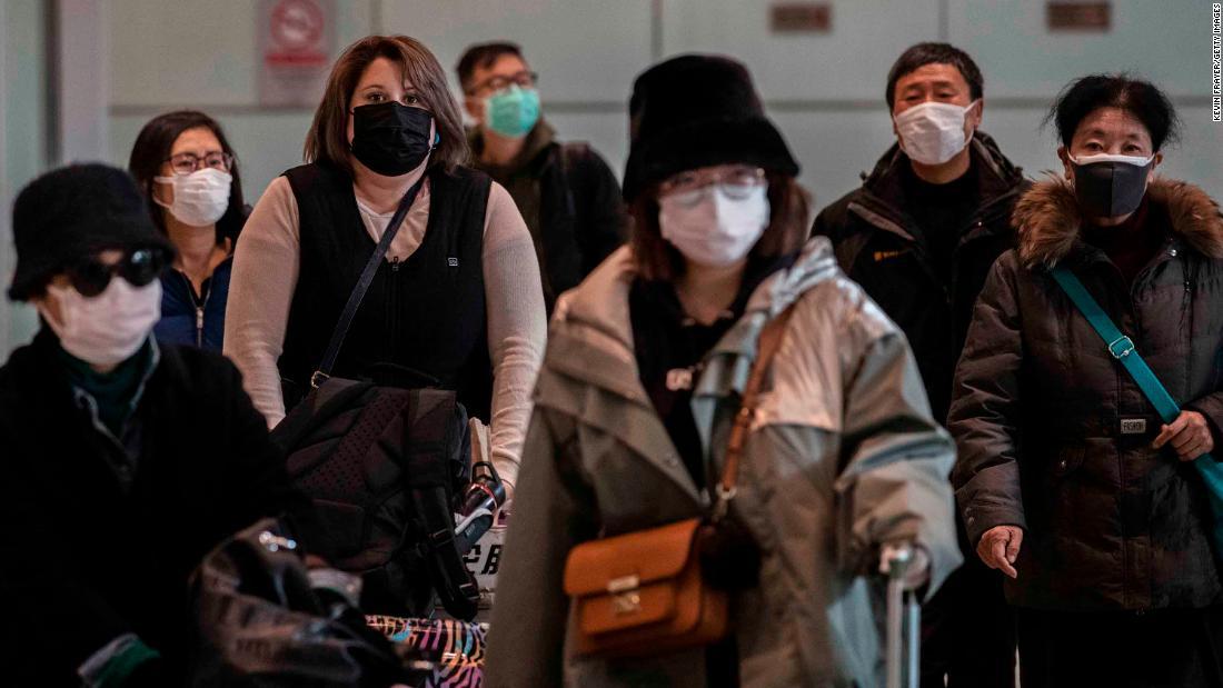 China versucht zu stoppen, internationalen Reisenden bringen-virus zurück