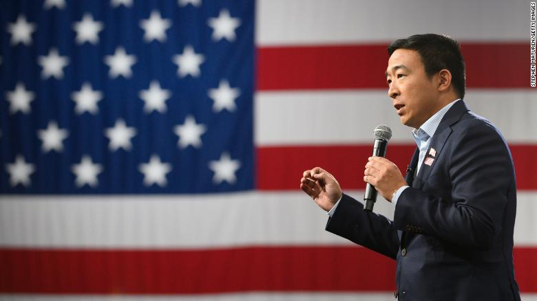 Andrew Yang files paperwork to run for New York mayor
