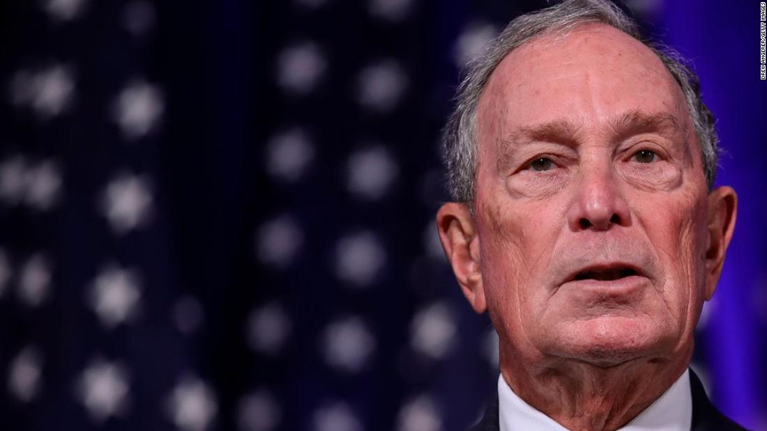Trump's former Navy secretary endorses Michael Bloomberg