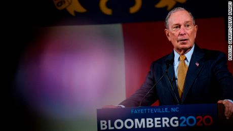 Bloomberg courts wealthy donors for their influence, not money