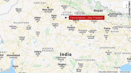 The incident occurred in in Farrukhabad, in the northern state of Uttar Pradesh, on Thursday, authorities said.