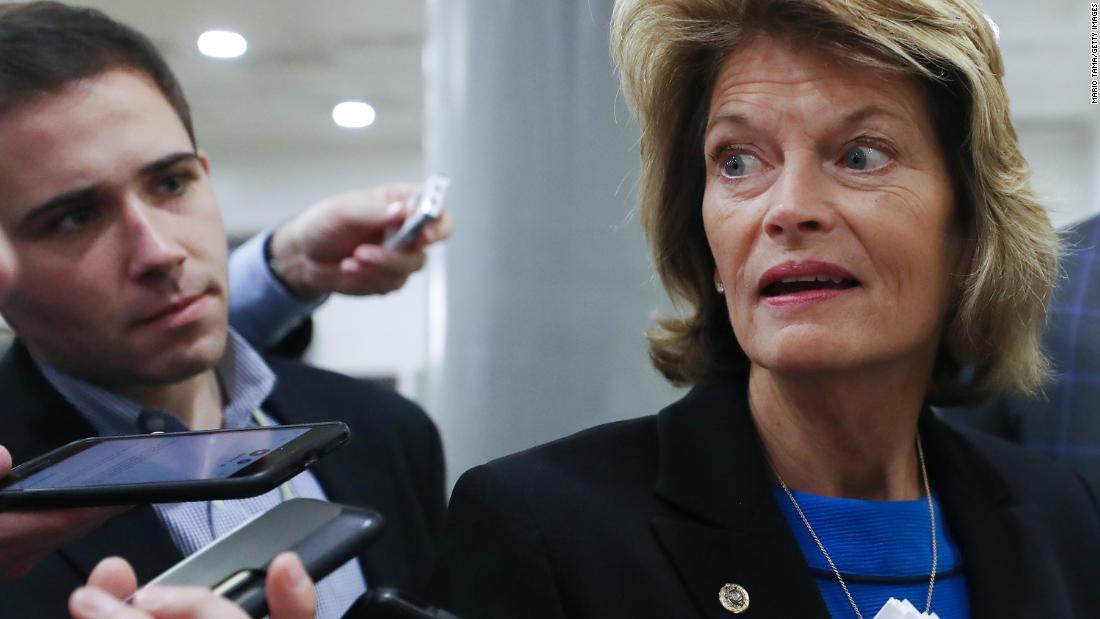 Lisa Murkowski became the second GOP senator to voice opposition on filling the Supreme Court vacancy before the election