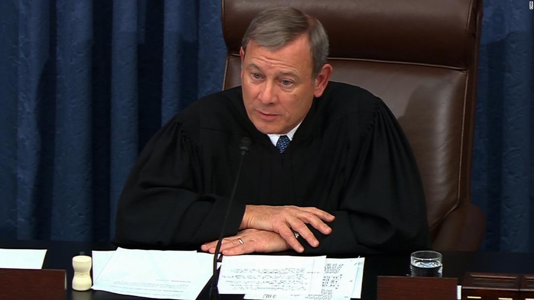 'This is your moment': Chief Justice John Roberts delivers remarks to son's graduating high school class