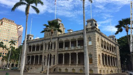 Iolani Palace, in Honolulu, Hawaii, is the only official residence of royalty in the United States.
