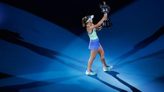 At 21, Sofia Kenin of the United States became the youngest women
