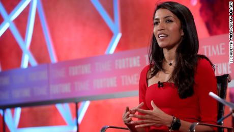 Leila Janah was the founder and CEO of artificial intelligence data company Samasource.