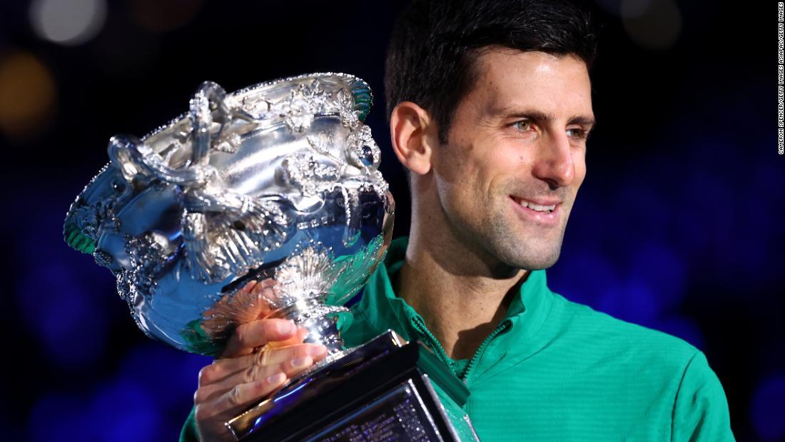 Novak Djokovic Rallies To Win His Eighth Australian Open Title Cnn