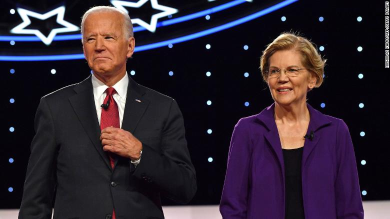 Elizabeth Warren endorses Joe Biden for president