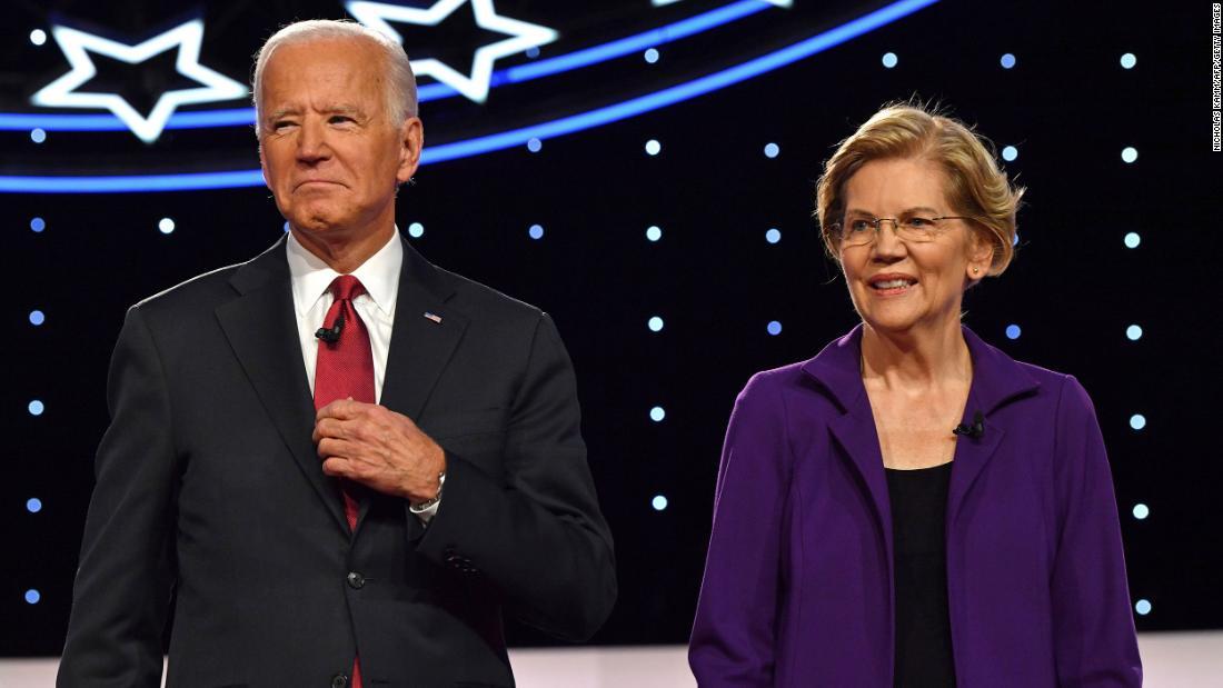 Elizabeth Warren endorses Joe Biden for president - CNNPolitics