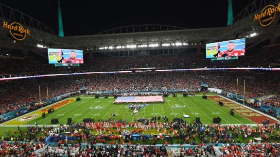The game was played at Hard Rock Stadium in Miami Gardens.