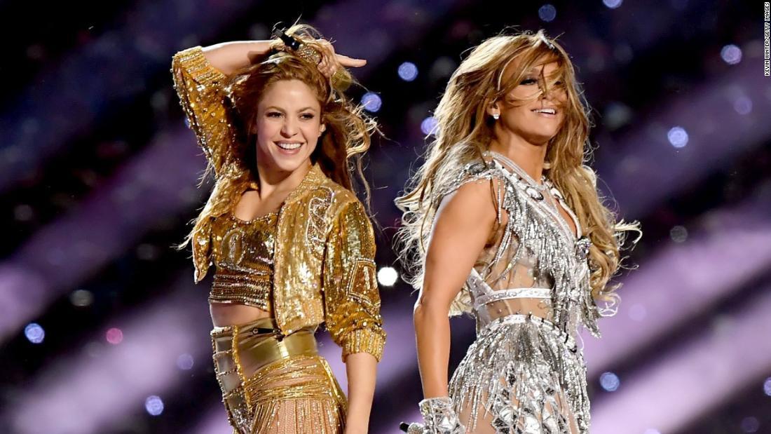 ギャラリー:Shakira J-Lo dazzleハーフタイム