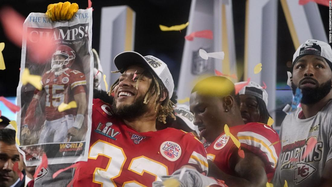 Tweet: Trump congratulates state of Kansas after Chiefs win Super Bowl but they play in Missouri