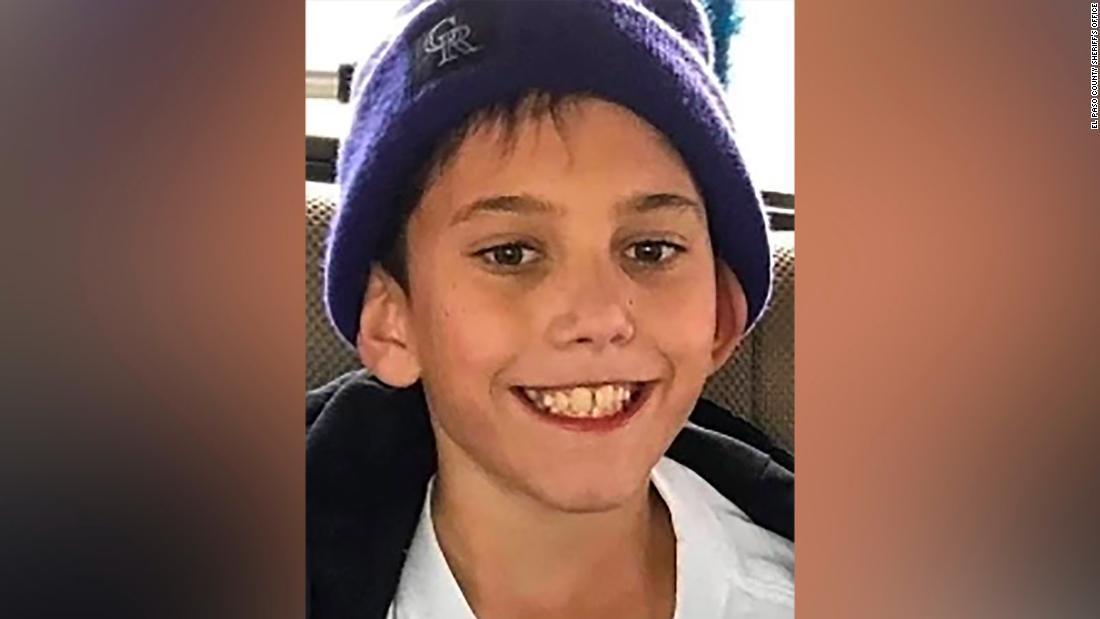 Körper gefunden in Florida angenommen werden, dass der fehlende Colorado boy