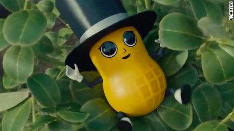 With Baby Nut, Planters solves the problem of their deceased mascot Mr. Peanut