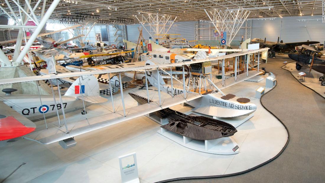 Das Luftfahrt-museum für Leute, die kümmern sich nicht um die Luftfahrt