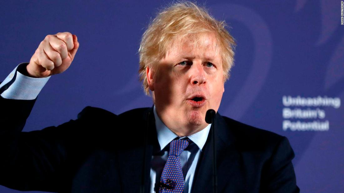 Boris Johnson is spoiling for a fight