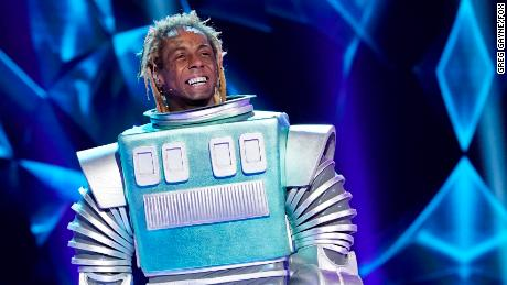 Lil Wayne in the Season Three premiere of 'The Masked Singer'