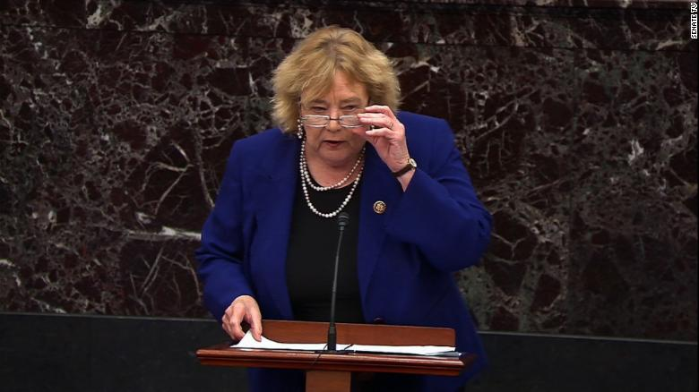 Democratic Rep. Zoe Lofgren quietly releases massive social media report on GOP colleagues who voted to overturn the election