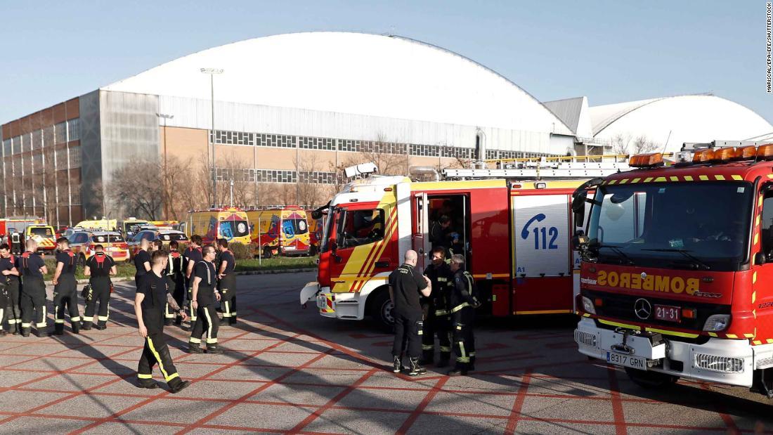 Flugzeug macht Notlandung in Madrid